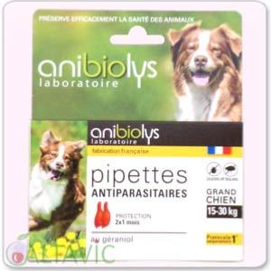 Pipettes antiparasitaires Grand Chien AniBioLys