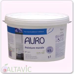 peinture naturelle murale blanche auro 321 sans substances chimiques nocives. Black Bedroom Furniture Sets. Home Design Ideas