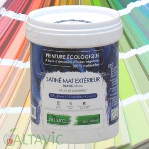 Peinture satin e ext rieur teint e tassili for Applique murale exterieur piston