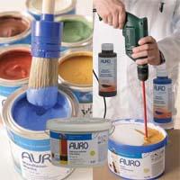 Peintures la chaux murs plafond int rieur ext rieur - Peinture a la chaux exterieur ...