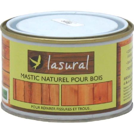 mastic naturel pour bois pour r parer fissures et trous lasural natura. Black Bedroom Furniture Sets. Home Design Ideas
