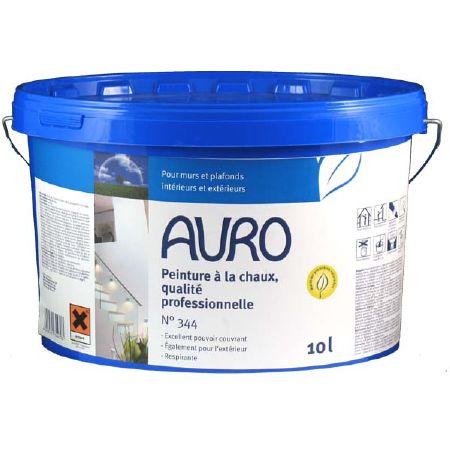 Peinture la chaux maison int rieur ext rieur auro 344 for Peinture chaux interieur