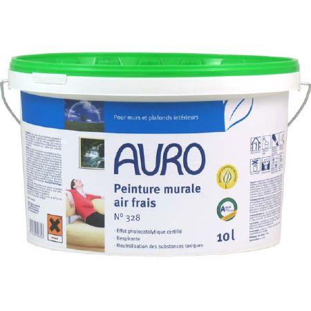 Peinture Murale Naturelle Air Frais Auro  Pour Un Salon