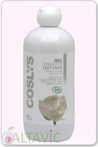 gel intime naturel l eau florale de rose bio 500ml coslys. Black Bedroom Furniture Sets. Home Design Ideas