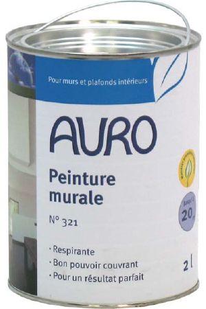 peinture naturelle murale blanche auro 321 sans substances. Black Bedroom Furniture Sets. Home Design Ideas