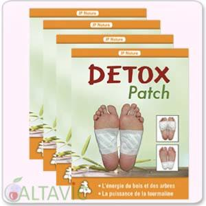 Patchs Détox anti-toxines - lot complet de 40 patchs - JP Nature