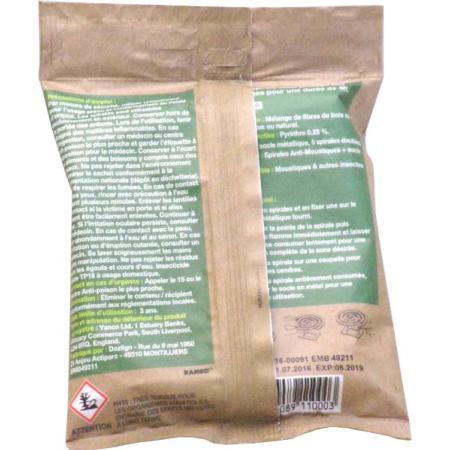 Spirales anti moustiques et insectes volants ecocoil ecolign insecticides for Peinture anti moustique