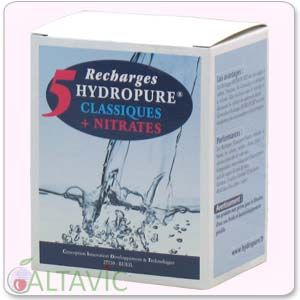 Recharges Hydropure Classiques+Nitrates - 5 recharges