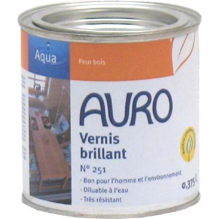 Vernis brillant naturel auro 251 pour meubles en bois - Vernis colore pour bois ...