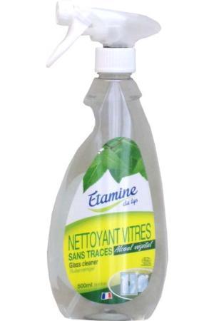Nettoyant vitres cologique spray rechargeable etamine for Produit pour nettoyer les vitres sans traces