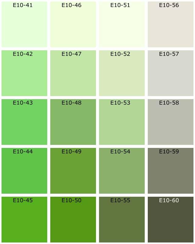 nuanciers tassili natura les verts. Black Bedroom Furniture Sets. Home Design Ideas