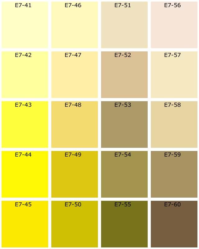 Teinte jaune resine de protection pour peinture for Signification des couleurs dans une maison