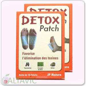 Patchs Détox anti-toxines - Lot de base de 20 patchs - JP Nature