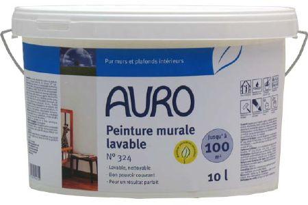 Peinture murale lavable naturelle auro 324 for Peinture acrylique murale lavable