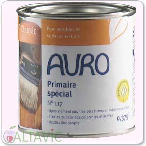 primaire sp cial naturel auro 117 pour les d riv s de bois riches en substances actives. Black Bedroom Furniture Sets. Home Design Ideas