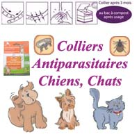 Colliers antiparasitaires