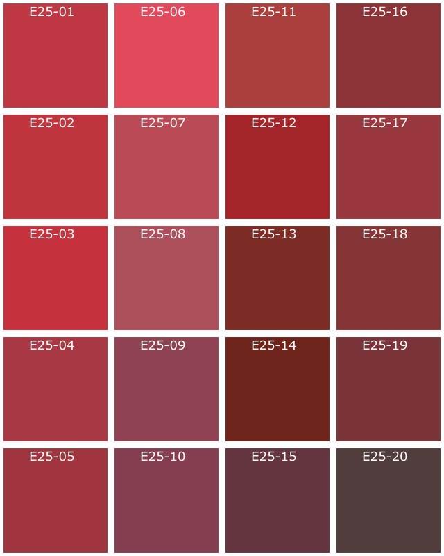 Captivant Violet · Vert Foncé · Vert · Rouge Foncé