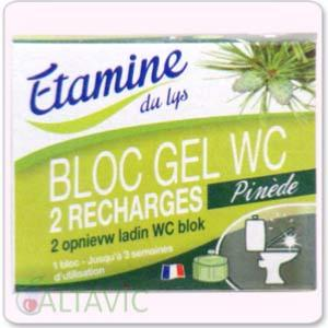 Recharges bloc gel WC 2x50ml Etamine du Lys