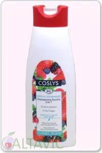 Shampooing douche Gourmande Fruits Rouges - Coslys