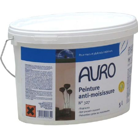 peinture anti moisissure auro 327 pour int rieur sans solvant r sistante au lavage. Black Bedroom Furniture Sets. Home Design Ideas