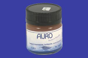 Laque brillante AURO 250 - Echantillon 50 ml