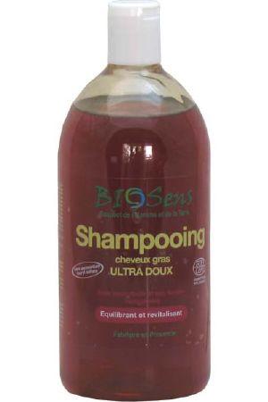 shampooing cheveux gras ultra doux 1l biosens - Shampoing Colorant Bio