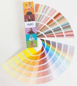Nuancier Colours For Life pour Auro 555
