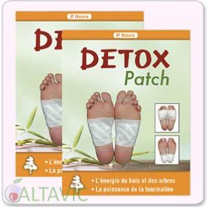 Patchs détox cure simple 20 patchs -  JP Nature